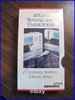 Bernina Artista 170/180 Embroidery Module with Carrying Case & Much More