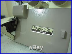 Bernina Bernette 234 Serger / Overlocker Working / Complete with Carry Case