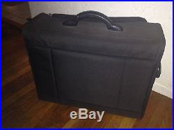 Bernina Black Travel Carrying Case for Sewing Machine 21 x 17 x 10