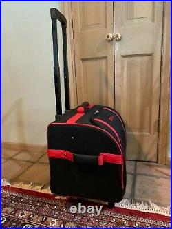 Bernina Large Sewing Machine Trolley Roller Bag Carrying Case Rolling Suitcase