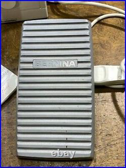 Bernina Model 1005 Sewing Machine w Foot Control Pedal / Manual & Carry Case