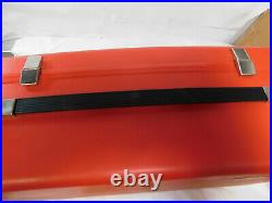 Bernina Record 830 Sewing Machine Hard Red Carrying Case