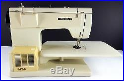 Bernina Record 830 Sewing Machine with Extras Carry Case Free Arm