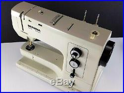 Bernina Record 830 Sewing Machine with Extras, Carry Case, Free Arm