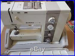 Bernina Record 930 Electronic Sewing Machine With Carry Case, Manual