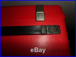 Bernina Red Carrying Case Only Record Sewing Machine Hard Plastic Carrier