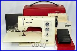 Bernina Sewing Machine Model 830 831 with Accessories Carrying Case Super Clean