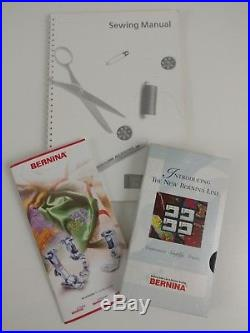 Bernina Virtuosa 163 Sewing Machine With Accessories Manual And Carrying Case