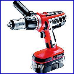 Black & Decker 18v Hammer Drill Cordless