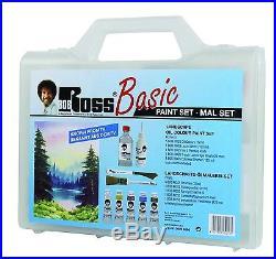 Bob Ross Basic Landscape Painting Set latest style with carry case