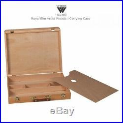 Bob Ross Master Oil Paint Set with Bundle Option for Royal Elm Carrying Case