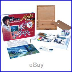 Craft Carrying Case Bob Ross Master Oil Paint Set With