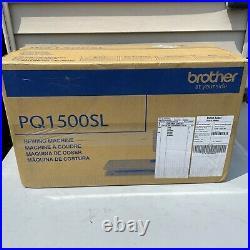 Brand New Brother PQ-1500SL Mechanical Sewing Machine White
