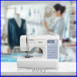 Brother 50-Stitch Project Runway Computerized Sewing Machine, CS5055PRW