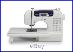 Brother 60-Stitch Computerized Embroidery Sewing Machine with Portable Carry Case