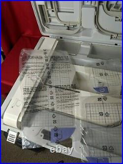 Brother Babylock Ellegante Embroidery Arm Unit Assembly Hoop Set & Carry Case