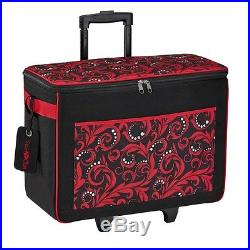 Brother CATOTER Carrying Case (Rolling Tote) for Paper Craft Machine Red