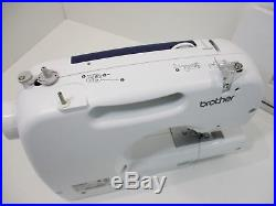 Brother CS-6000i Computerized Sewing Machine with Carry Case No Foot Pedal NICE
