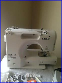 Brother CS505 PRW Computerized Sewing Machine With Manual, Pedal & Accessories