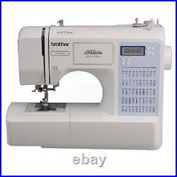Brother CS5055PRW Sewing Machine, Project Runway, 50 Built-in Stitches, LCD 7