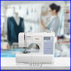 Brother CS5055PRW Sewing Machine Project Runway 50 Built-in Stitches LCD Disp