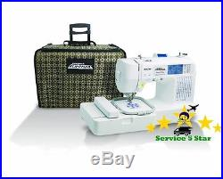 Brother Crafts Sewing Computerized Embroidery Machines & Rolling Carrying Case