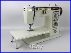 Brother Galaxie 8015 Sewing Machine with Pedal, Manual, Carrying Case & Extras