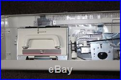 Brother KH-890 Punchcard Knitting Machine & Carry Case