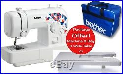 Brother L14s Sewing Machine + Wide Table & Carry Case Bundle Offer Next Day Del