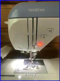 Brother PE770 5x7 Inch Computerized Embroidery Machine 471K Stitches