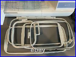 Brother PE770 5x7 Sewing Machine/Embroidery Machine 340,210 thread count