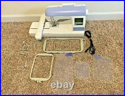 Brother PE770 Computerized Embroidery Machine With Extras, Works! Free shipping