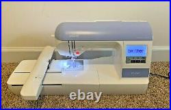 Brother PE770 Computerized Embroidery Machine, Works! Comes with All Pictured