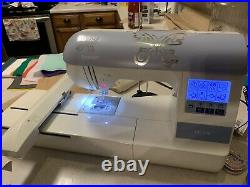 Brother PE770 Embroidery Machine With Hoops & Copy Of My Designs From Etsy