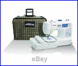 Brother Project Runway Sewing Machine with Included Rolling Carrying Case
