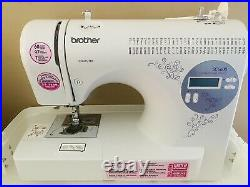 Brother SC6600 Computerized Sewing Machine WithPedal Manual & Carrying Case NICE