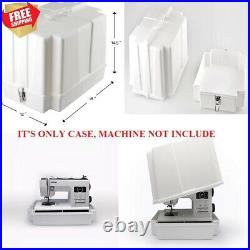 Brother Universal Sewing Machine Carrying Storage Hard Cover Case Serger NEW