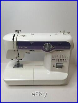 Brother XL5500 sewing machine With Carrying Case. Tested