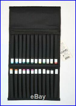 COPIC Classic 24 Marker Set + Copic Marker Carry Case BNWT RRP £245