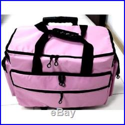 Carrying Cases Classy Sewing Machine Trolley Pink