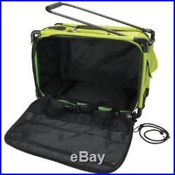 Carrying Cases TUTTO Machine On Wheels 21X13-1/4X12-Lime