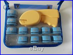 Cassette Craft Paper Punch with 11 Punches in Carrying Case