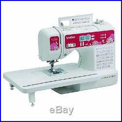 Computerized Sewing Quilting Machine Built-in Basic Monogramming Font Carry Case