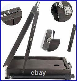 Conda Wooden Easel, 176cm/ 69 Adjustable carry case. READ DESCRIPTION