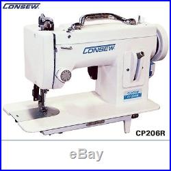Consew CP 206R COMPLETE Portable Walking Foot Machine with Carrying Case