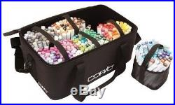 Copic Markers and Pens Carrying Case Storage Carrying Bag 6 Removable Cups