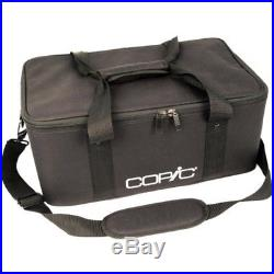 Copic Rigid Polyester Carrying Case Black Marker 380 Markers