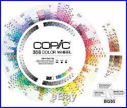 Copic marker Sketch all 356 color & Multiliner & carrying case ems 2weeks arrive