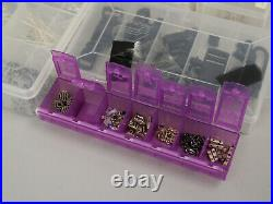 Craft Mates Carrying Case Bag withJewelry Making Supplies Beads, Clasps, Earrings+