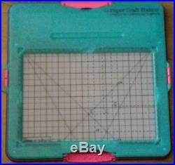 Craft With Helix Embossing Board Templates +Accessories Carry Case Card Making